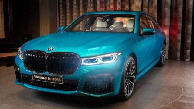 Екзотика и лукс! BMW 7 серия специално за арабски шейхове
