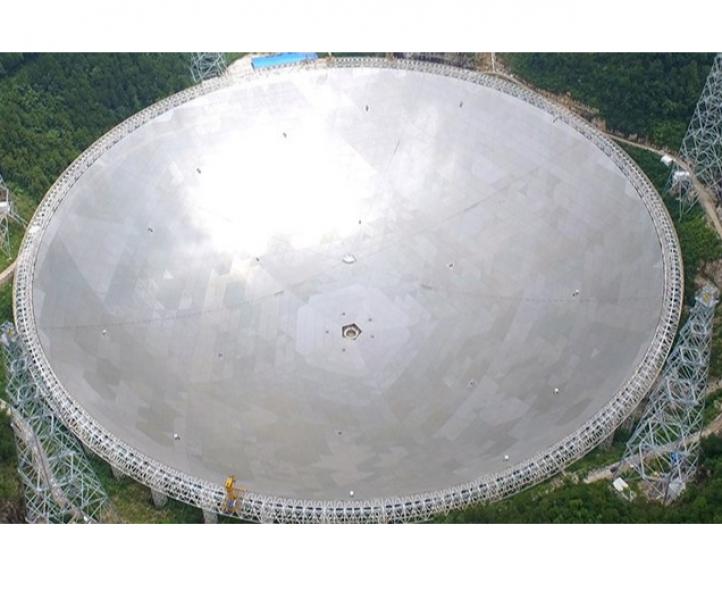 Гигантският радиотелескоп в Китай откри повтарящи се сигнали от Космоса