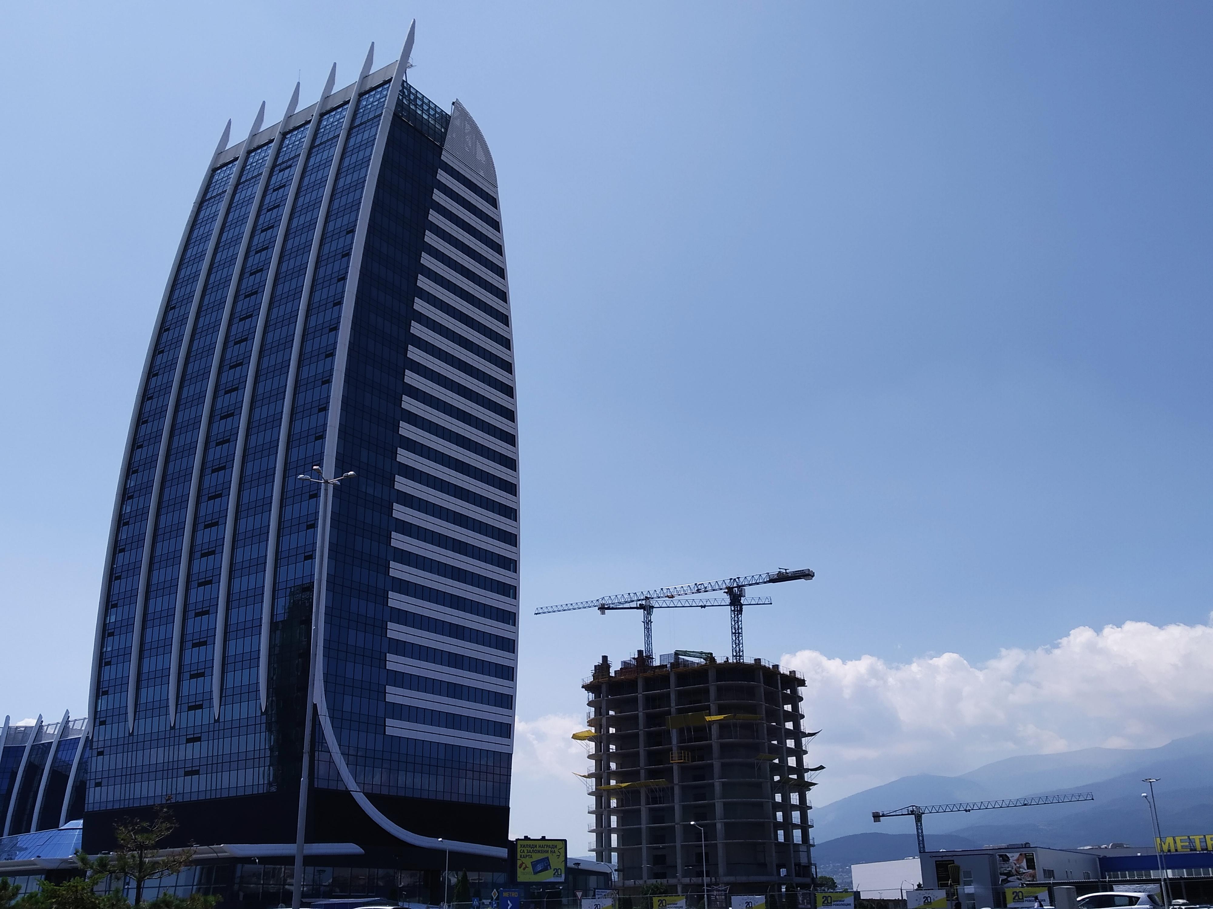 Софийският Skyfort – 202 метра, за €100 млн. Небостъргач №1 на Балканите готов до 2021-ва