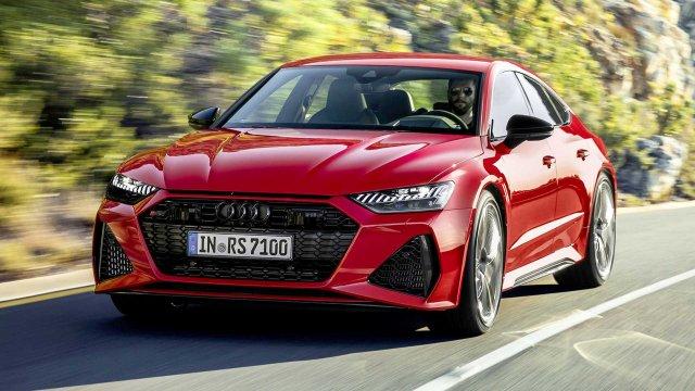 Новото Audi RS 7 - с големи промени във визията и още по-мощно (СНИМКИ)