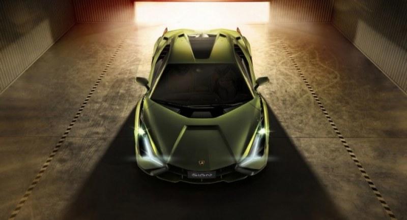 Lamborghini Sian – първият хибрид, под капака – 819 конски сили!