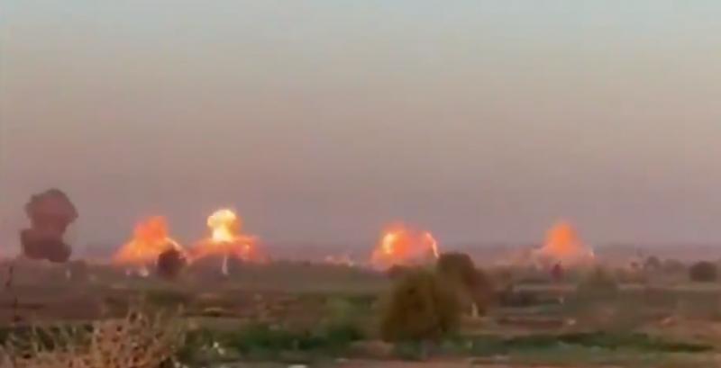 40 т бомби и мащабен удар по ИД. САЩ прати изтребители –