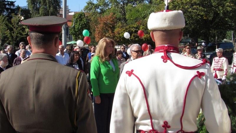 Вицепрезидентът Йотова: Най-трудната битка е срещу омразата и отричането!