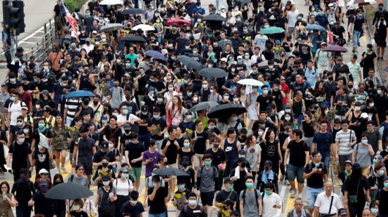 Продължават протестите срещу правителството в Хонконг