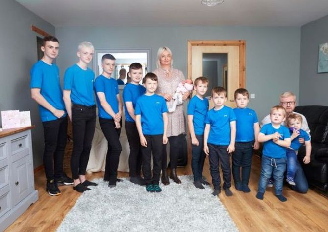 Фитнес инструкторка роди 10 момчета! Оказа се, че ще има и момиче