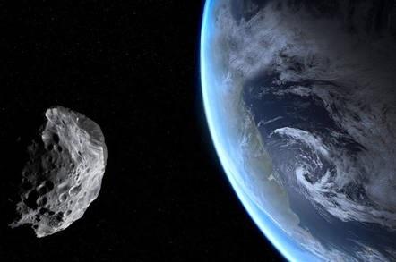 Опасно близки! Астероидът