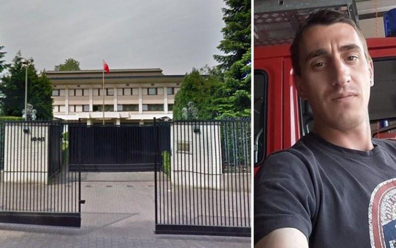 Искрен се самоубил! Камери заснели как българинът си надява примката в гаража