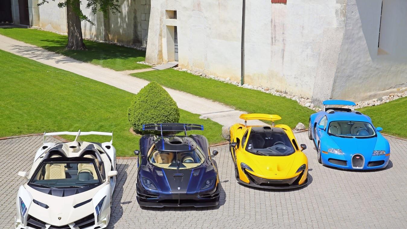 Търг на корумпираната власт: 25 супер луксозни коли за $25 млн.