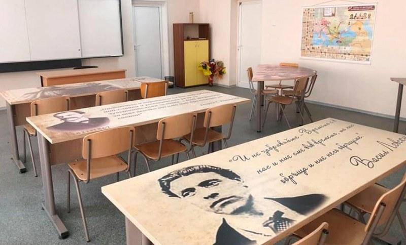Левски, Ботев, Йовков.. Патриотични чинове в Професионална гимназия