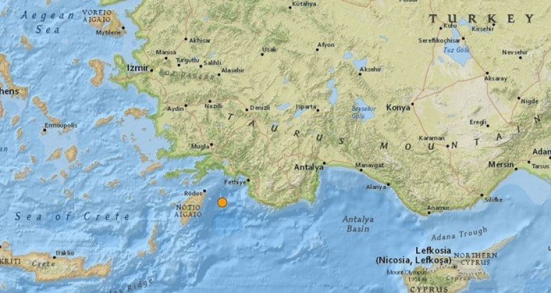 Нов кошмарен трус в Турция –5.1 разтърси южната ни съседка!