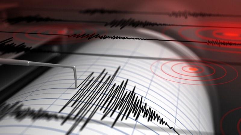 Трус с магнитуд 2,4 по скалата на Рихтер е регистрирано край Пловдив
