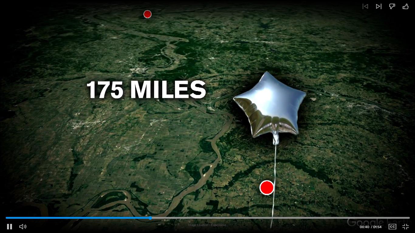 Как един балон с хелий събра отдавна загубени братовчеди?