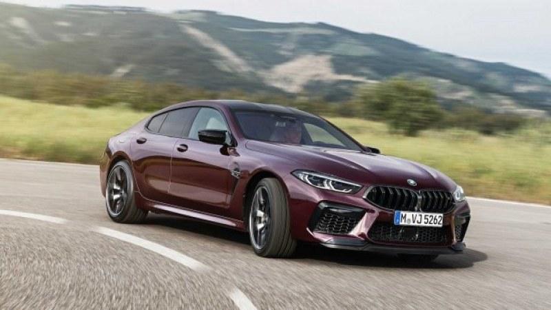 BMW M8 Gran Coupe – всичко нужно на един мъж. Класа от карбон! СНИМКИ