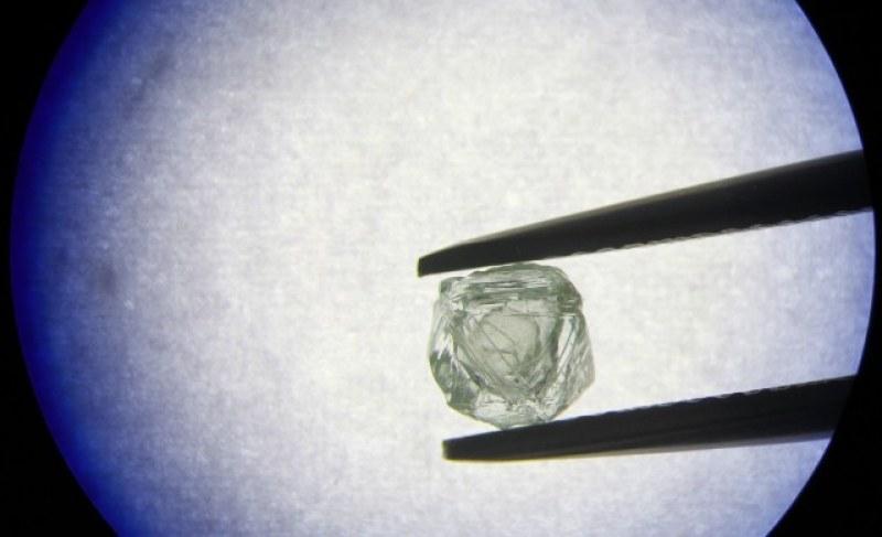 Диамант в... друг диамант – първият по рода си, откриха го в Сибир
