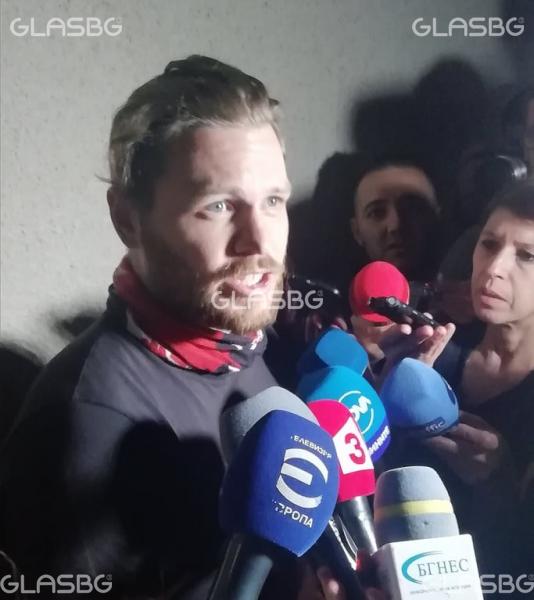 Полфрийман: Вярвам на полицията, българите ми помагат. Бих останал тук!