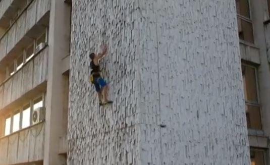 Спайдърмен е пловдивчанин! 13-годишният Ники изкатери 60 метра за 3 минути