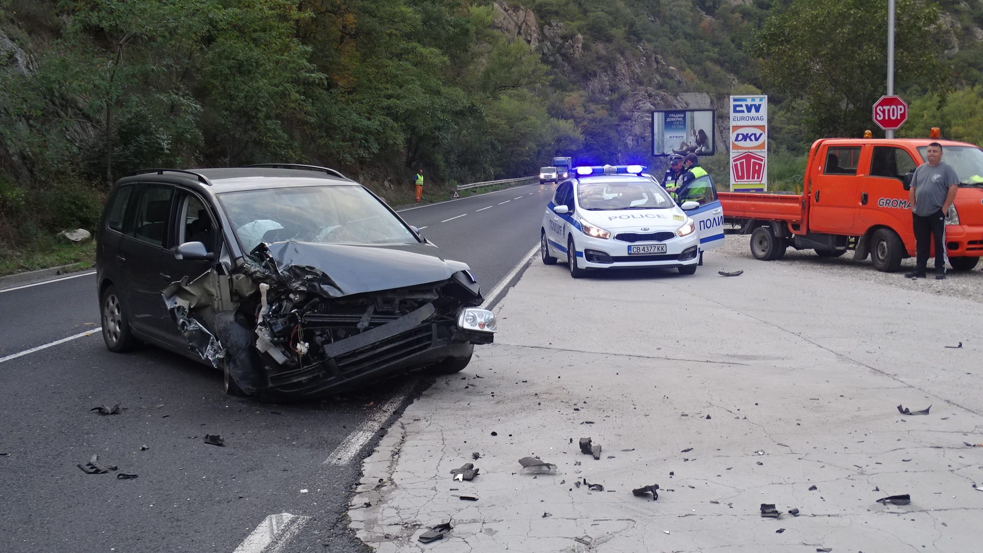 Тревожна статистика: 560 катастрофи само в Пазарджишко от началото на годината