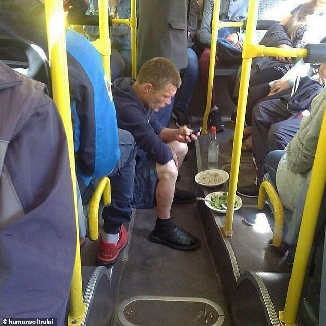 Абсурди в автобуса: Гълъби, котки, софра... Не било само у нас така!