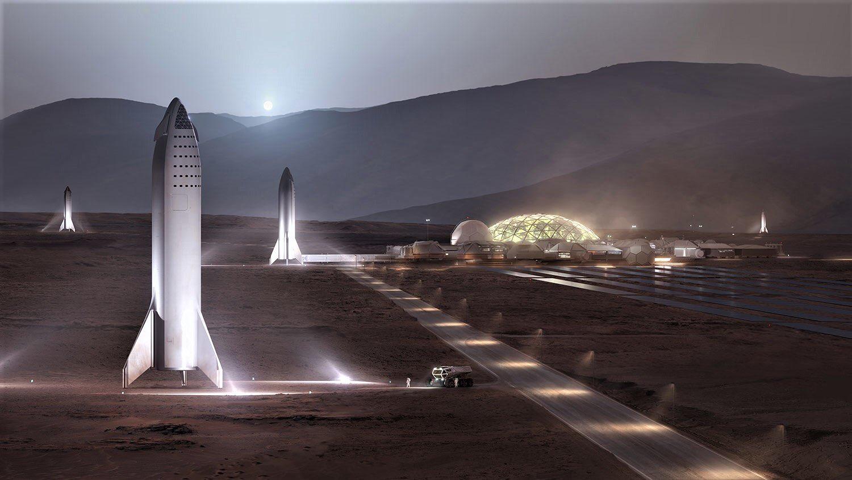 Гаранция от Мъск: Можем да колонизираме Марс за около 20 години!?