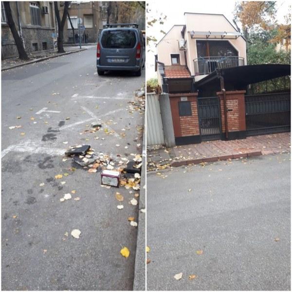 Селяндурско... Пловдивчанин си заплю паркомясто пред луксозната си къщичка