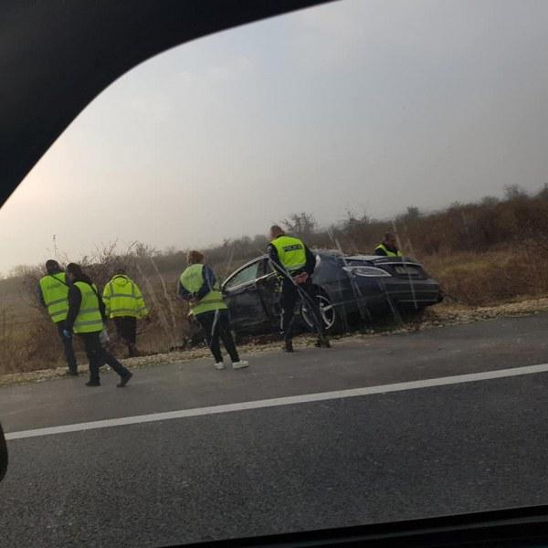 Тежка катастрофа на магистрала