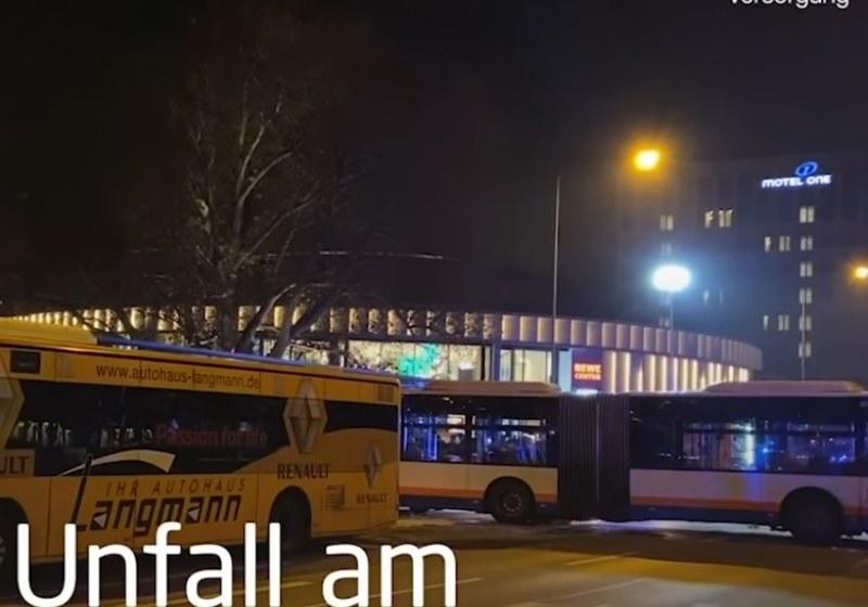 С бясна скорост автобус се вряза в коли и спирка в Германия – 21 ранени!