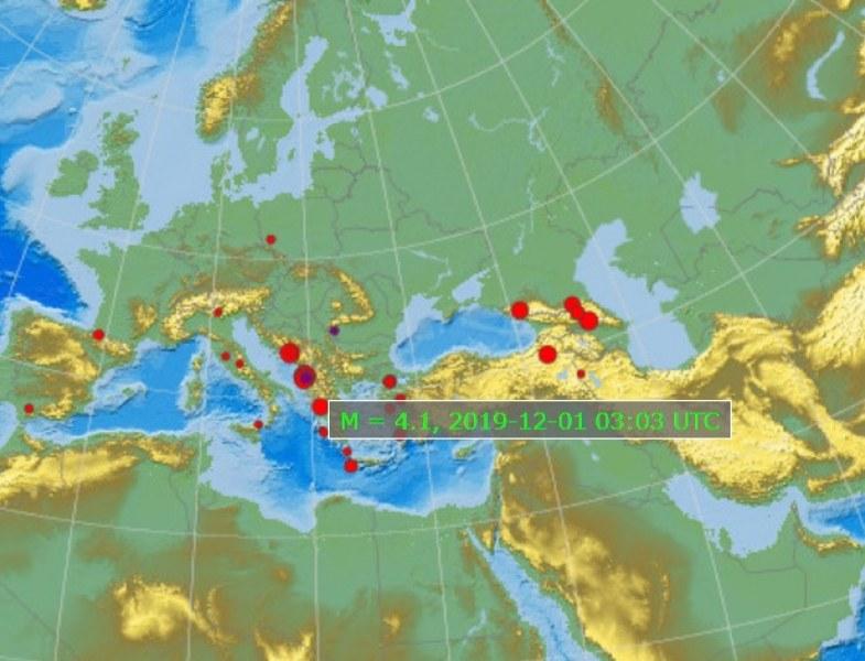 Земята под Балканите не спира да се тресе! След Албания, 4 по Рихтер и в Турция