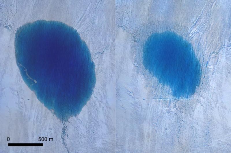 Да изчезнеш за часове: Тонове вода от ледниково езеро – вдън земя!?