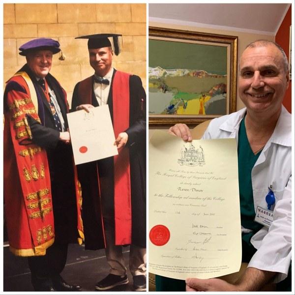 Този български хирург е единственият действащ у нас с кралско отличие!