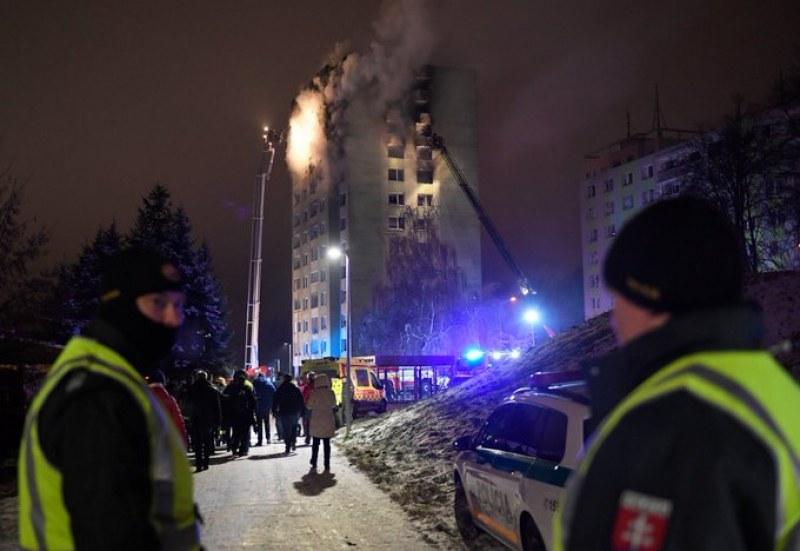 Жертвите на газовата експлозия в жилищен блок в Словакия вече са 7! ВИДЕО