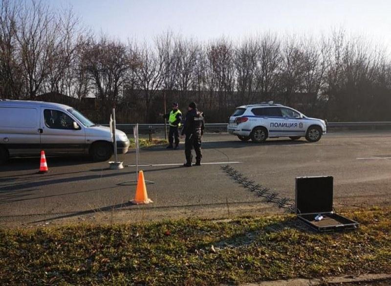 Акция: Всички входове и изходи на Бургас са блокирани от полиция