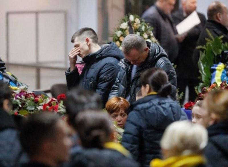 Телата на загиналите в самолетната катастрофа са върнати в Украйна