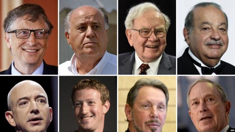 Богати - бедни! 2000 души в света имат повече от 4.6 млрд., взети заедно