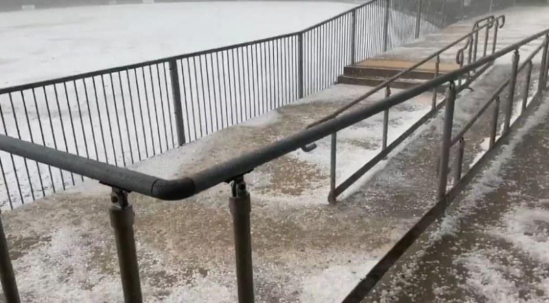 Страшна градушка се изсипа в Австралия, има много щети