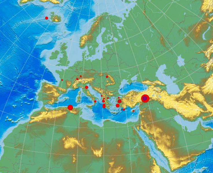 Ново земетресение в Източна Турция!