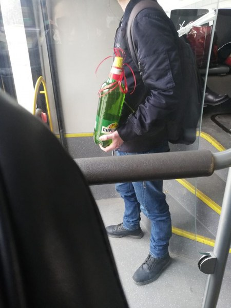 Няма плюшени мечета и рози! Това е подарък за празника! СНИМКА