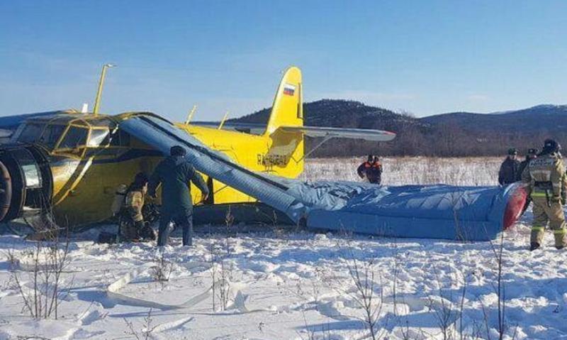 Самолет с 14 пътници падна в Русия