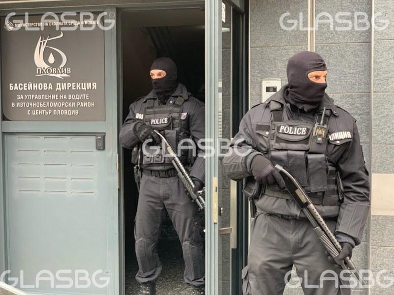 Нови арести! Специализираната прокуратура влезе в Басейнова дирекция-Пловдив