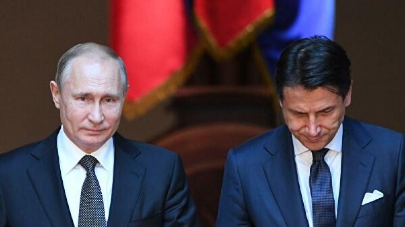 Путин изпраща руски специалисти в Италия да помагат за коронавируса