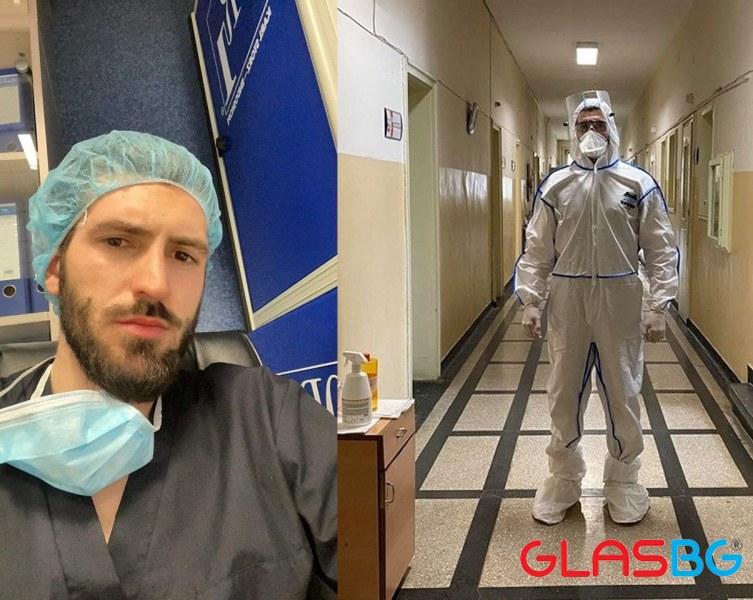 Студенти от Медицинския университет доброволно работят в Инфекциозна клиника