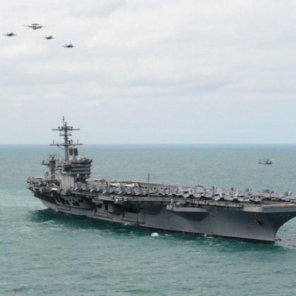 Над 100 моряци са заразени с COVID-19 на самолетоносач