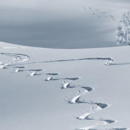 Сняг по време на коронавирус! Мъчи се да сложи бяла маска над страната