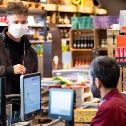Рискът да се заразите с коронавирус в супермаркетите е нулев!
