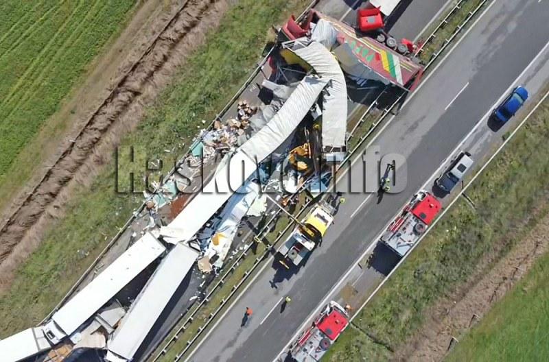 Затвор очаква виновните за касапницата с конвоя от тирове край Харманли СНИМКИ
