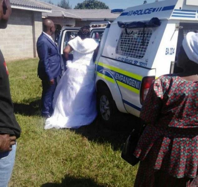 Полицаи нахлуха на сватба и арестуваха младоженците! Не спазили... мерките СНИМКИ