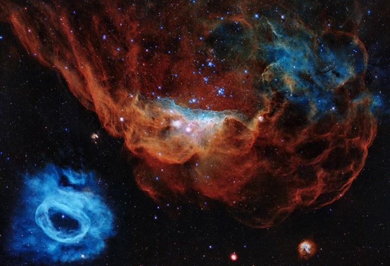 Зашеметяваща снимка от Космоса за ЧРД от Хъбъл
