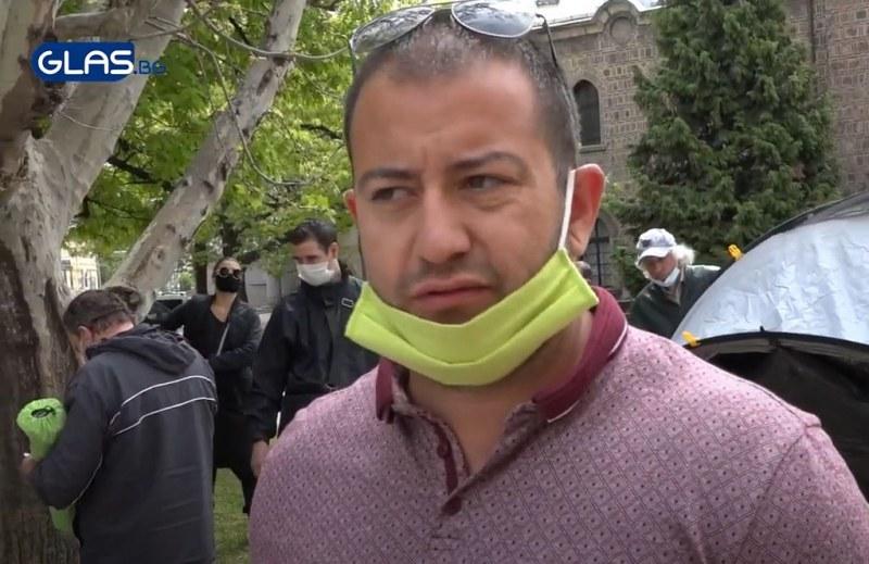 Протестиращи бесни на Радев ВИДЕО