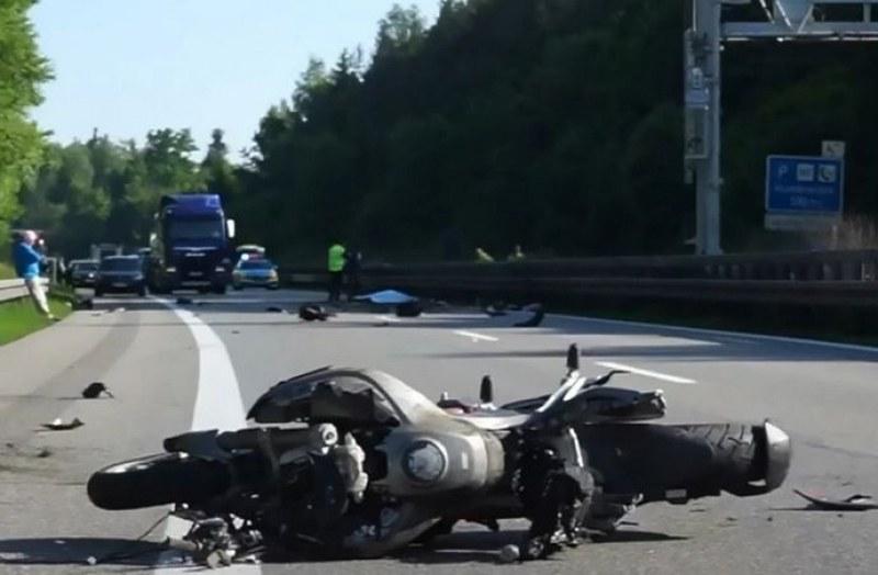 Германски принц катастрофира с мотора си и загина