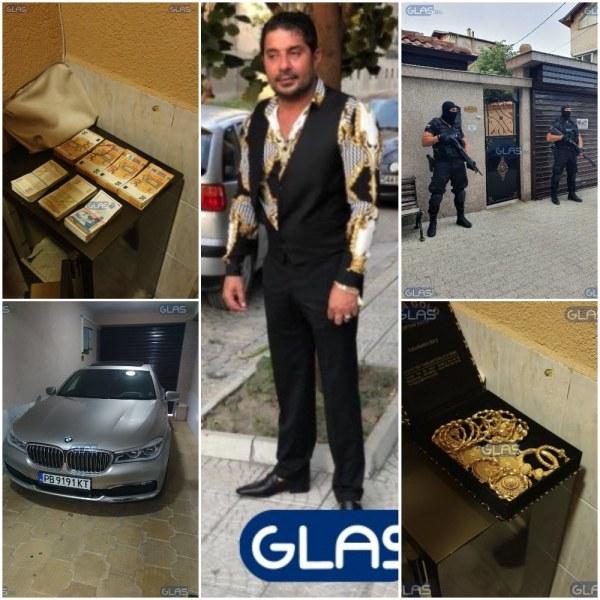 Ромският барон с милионите, златото и проститутките отива на съд! ВИДЕО