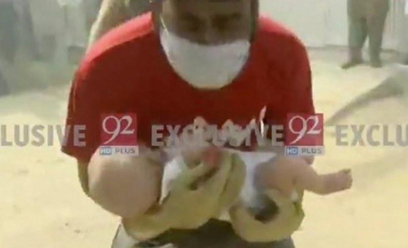 Намериха живо бебе на мястото на катастрофата със самолет  СНИМКИ